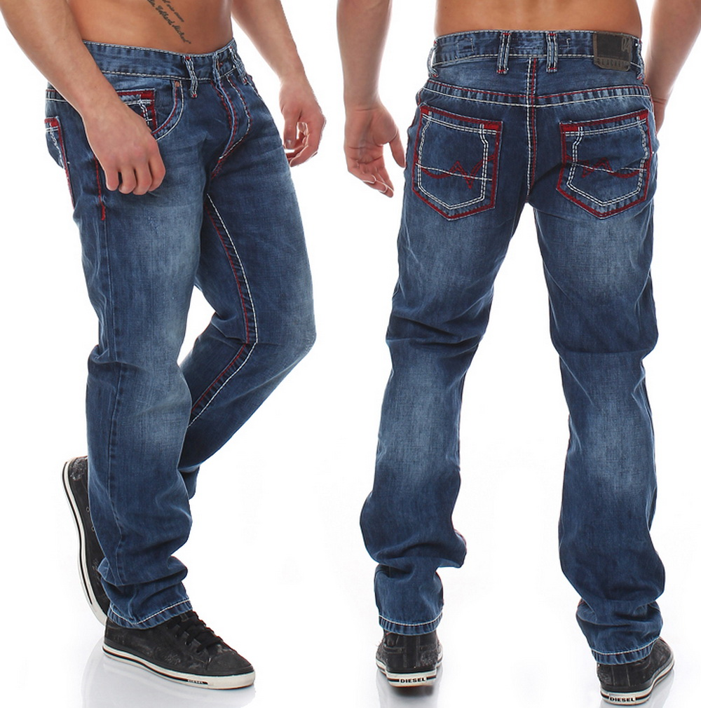 blackrock by jeel herren jeans dicke rote n hte mega hose verwaschen w31. Black Bedroom Furniture Sets. Home Design Ideas