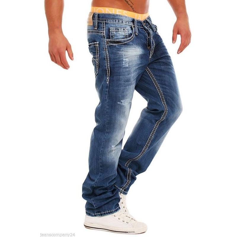 amica denim herren jeans mod 5010 dicke n hte clubwear designer hose blau ebay. Black Bedroom Furniture Sets. Home Design Ideas