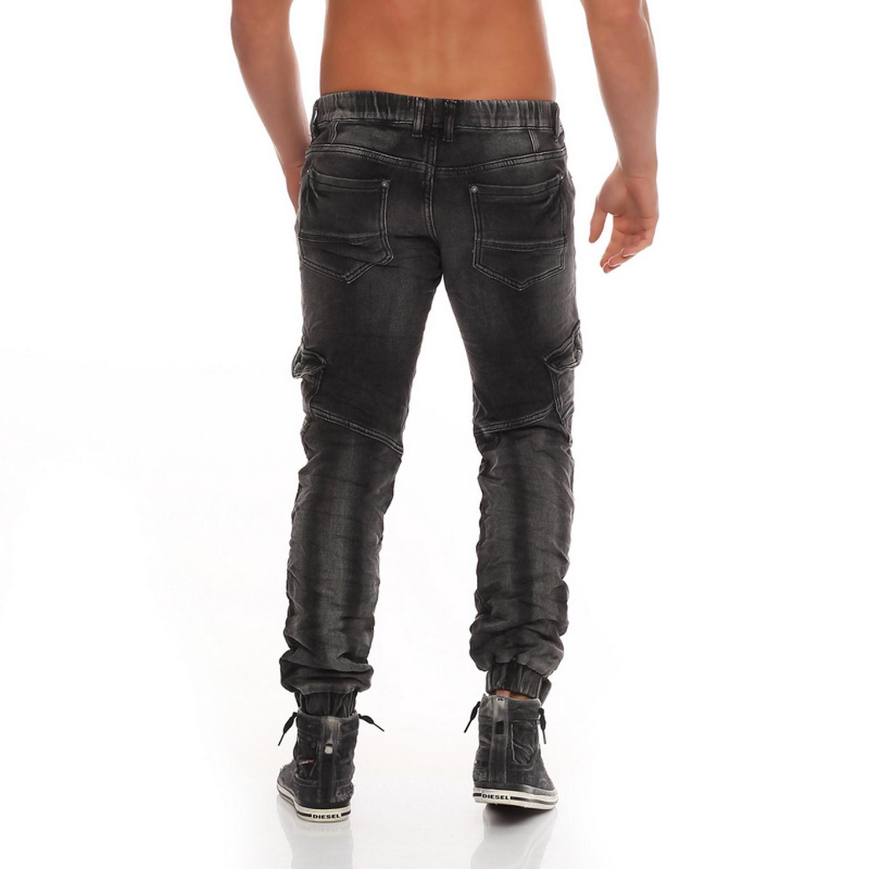 jeansnet jogg denim jogging jeans cargo hose grau skinny harem baggy jogger w30. Black Bedroom Furniture Sets. Home Design Ideas